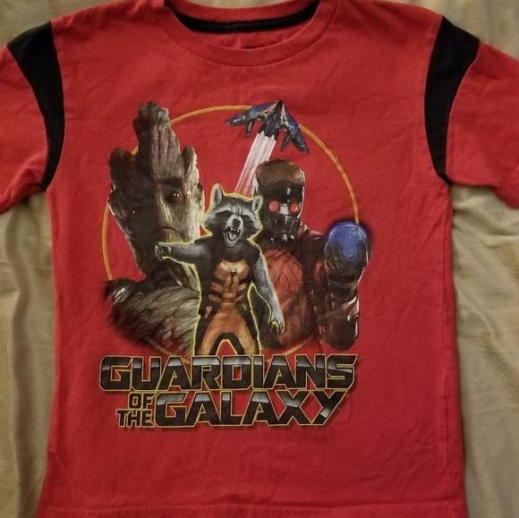 5cb0d53d84c Guardians of the Galaxy kids sz G red